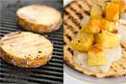 Grillad hot chèvretortilla (efterrätt) - recept