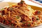 Spagetti alla Bolognese - spagetti med köttfärssås - recept
