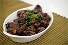 Champignons Bordelaise, bräserad svamp i rödvin - recept
