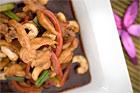 Wokad kyckling med cashewnötter - recept