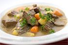 Currykalops av hjärta kokt i gryta - recept