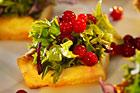 Cheddarpaj med vintersallad (plockmat) - recept