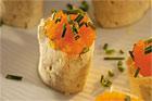 Löjromsrulle med cheddar (plockmat) - recept