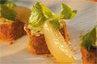 Ost- och pepparkaksstubbe (ostefterrätt) - recept