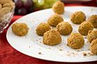 Pepparkaksbollar med mögelost - recept