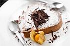 Chokladmousse i hjärlig form för två - recept