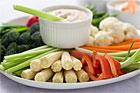 Grönsaksdip med 3 enkla såser (drinktilltugg) - recept
