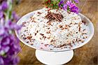 Daimtårta med marängbotten - recept