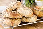 Lunchbröd med filmjölk, fullkorn, bovete, lin- och solrosfrön - recept