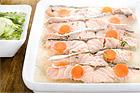 Klassisk laxaladåb - kall inkokt lax i gelé - recept