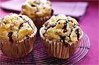 Muffins med äpple, havregryn och russin (utan socker) - recept