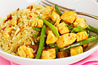 Quorn med quinoa och mango chutney - recept