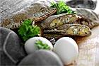 Ansjovis och äggfyllning till piroger, pajer o.d. - recept