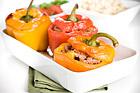 Färsfylld paprika på turkiskt vis - recept