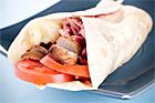Wraps med köttbullar - recept