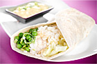 Wraps med fisk - recept