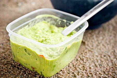 Avokadoröra till sallad och dipp