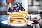 Amerikanska blåbärspannkakor - recept