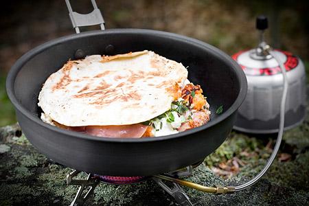 Sötsalt quesadilla (lätt måltid)