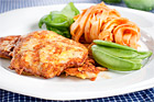 Piccata pollo, ostpanerad kycklingschnitzel - recept
