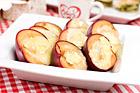 Camembertgratinerade plommon (ostefterrätt) - recept