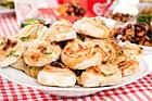 Valnötsbullar med getost och honung - recept