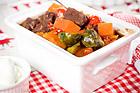 Glöggdoftande kött- och grönsaksgryta - recept