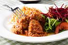 Köttfärsbullar med fetaost i tomatsås (GI-recept) - recept