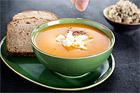 Pepprig sötpotatissoppa med feta - recept