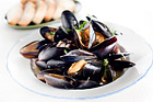 Musslor i vinäger (förrätt) - recept