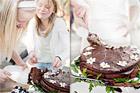 Chokladtårta med ingefära - recept