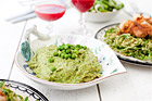 Grön ärtpesto (tillbehör) - recept