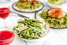 Råmarinerad grön sparris till maten - recept