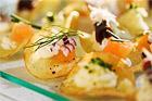 Tre aptitretare på potatischips - recept