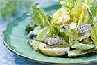 Potatissallad med citron - recept