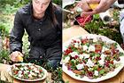 Renskavstallrik med plommon och fårost - recept
