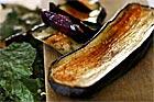 Aubergine i stället för potatis som tillbehör - recept