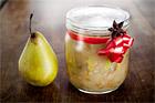 Päronchutney tillbehör till mat - recept