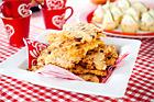 Cheddarflarn med pinjenötter - recept