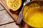 Senapssås med blommig smak till sillen - recept