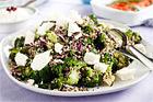 Quinoasallad med feta och broccoli - recept