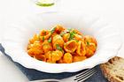 Gnocchi al granchio, pastagnocchi med krabba - recept