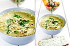 Broccolisoppa med chorizo - recept