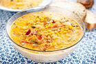 Corn chowder - krämig majssoppa - recept