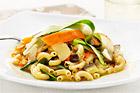 Cornetti all'Ortolana - nunnans, tillika grönsakshandlarens pasta - recept