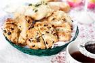 Scones med russin - recept