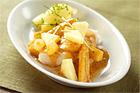 Hokifilé med currykryddad legymsallad - recept