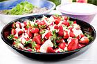 Svenska jordgubbar med vit choklad - recept