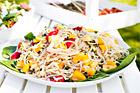 Asiatisk risnudelsallad - recept