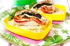 Mozzarella- och tomatfylld kycklingfilé - recept